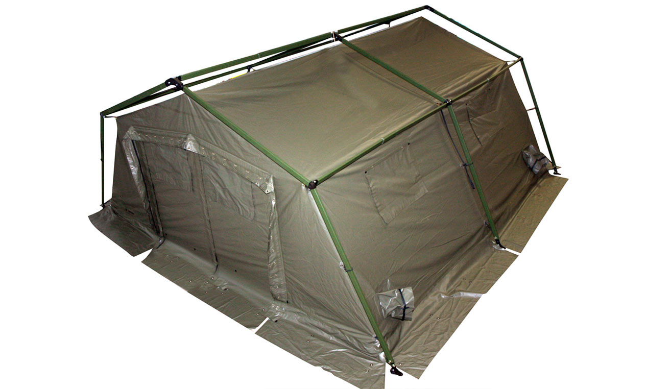Modular Tent System T18 useful surface 3x6  18m2